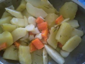 овощи на гарнир