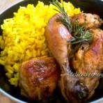 курица тушеная в вине