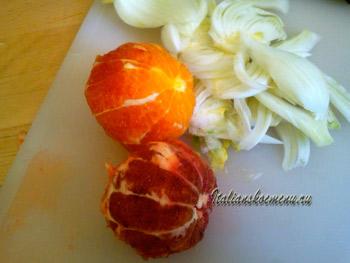 салат с фенхелем и апельсинами
