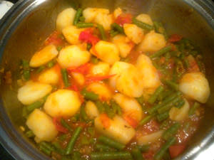 овощи с картошкой