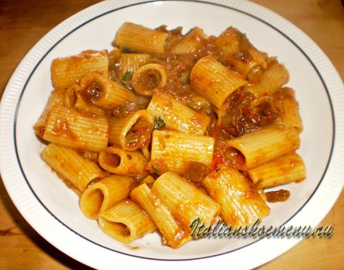 соус для пасты из овощей