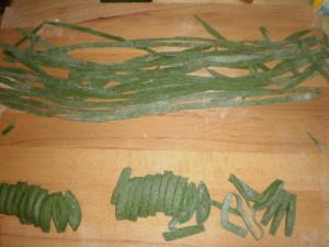 рецепт пасты с крапивой и мясным рагу