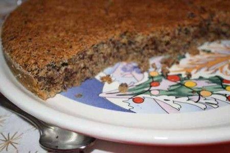 торт ореховый с шоколадом