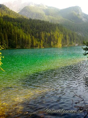 доломиты озеро Товель
