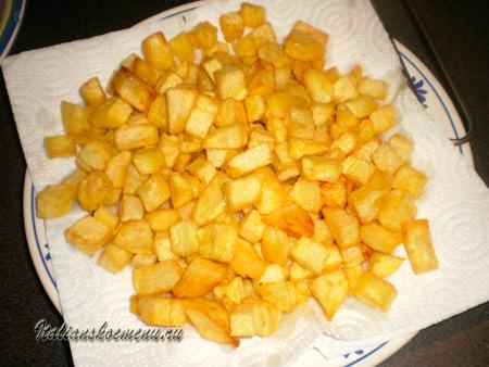 картошка с мясом