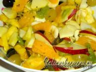 фруктовый десерт македония в трех вариантах