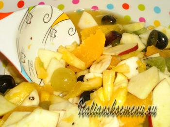 фруктовый десерт македония