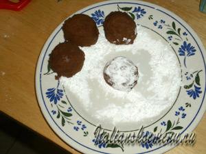 печенье и сахарная пудра