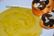 диетический суп-пюре с картофелем и пореем