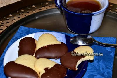 песочное печенье к чаю