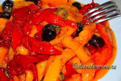 овощной гарнир из сладкого перца