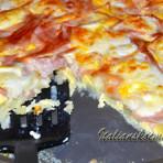 омлет в духовке с сыром и колбасой