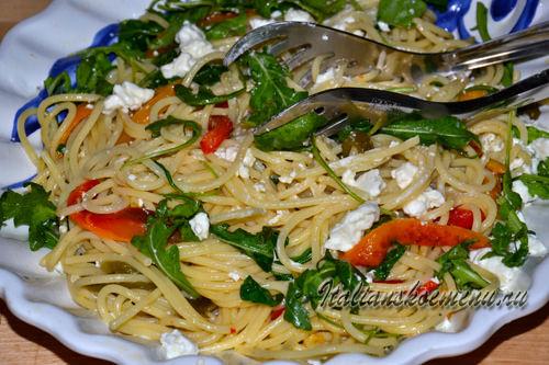 простой рецепт спагетти