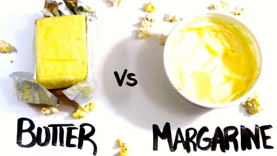 соевое масло и маргарин
