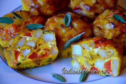 испанская тортилья рецепт