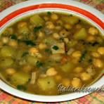 суп из нута с картофелем