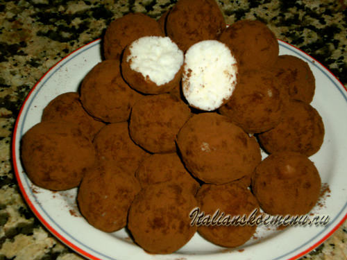 домашние конфеты рецепт