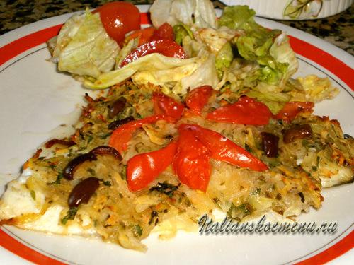 рыба в духовке с картошкой рецепт