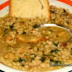 Суп с перловкой с грибами