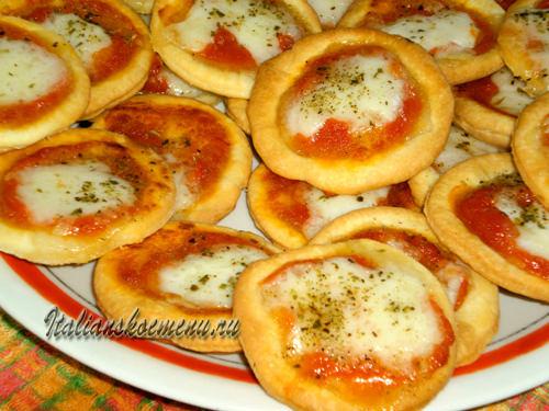 быстрая пицца в духовке