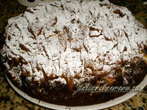 шоколадный торт готов
