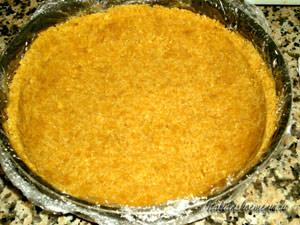 Нижний слой торта из печенья