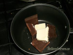 Шоколад и масло для глазури