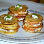 праздничная закуска из семги